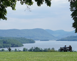 View from Boscobel House