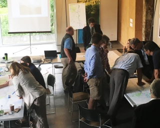 Greenway Trail Gap Analysis Meeting, 2016